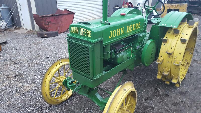 1937 John Deere BR on Steel with Extensions 12 - 16 HP
