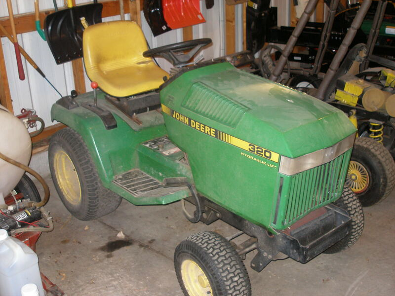 John Deere 320 Liquid Cooled Hydro Static 18 HP