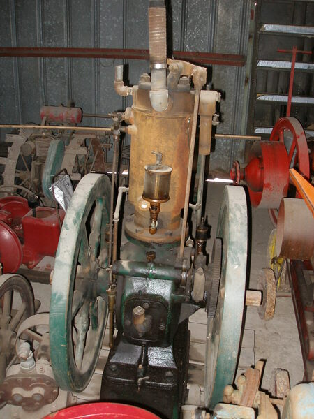 Fairbanks Morse 4.5 HP Upright