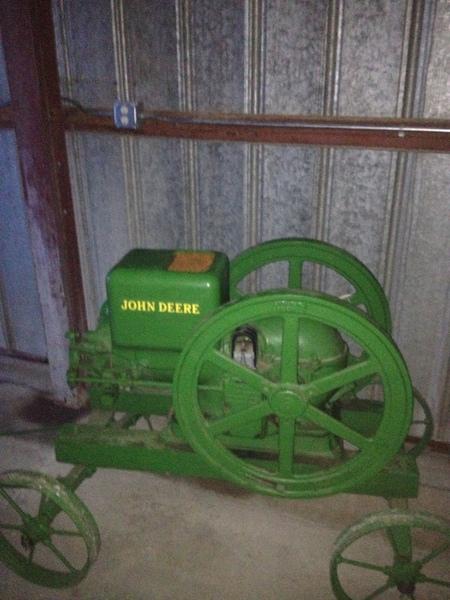 John Deere E 6 HP