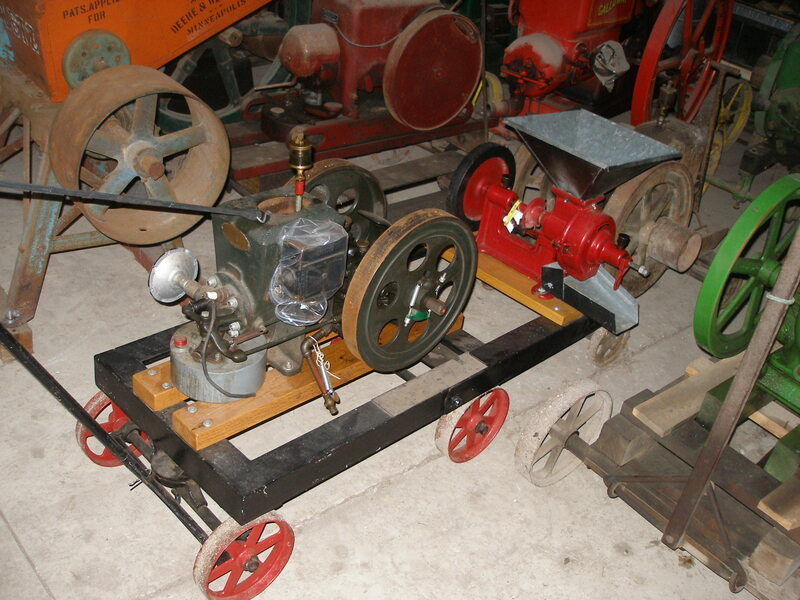 1925 Stover 1.5 HP With Grinder