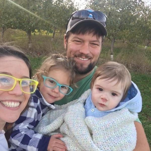 Stephanie Brozo (Step Daughter): Zach (Partner), Emilia (Granddaughter) and Issac (Grandson) Edgar