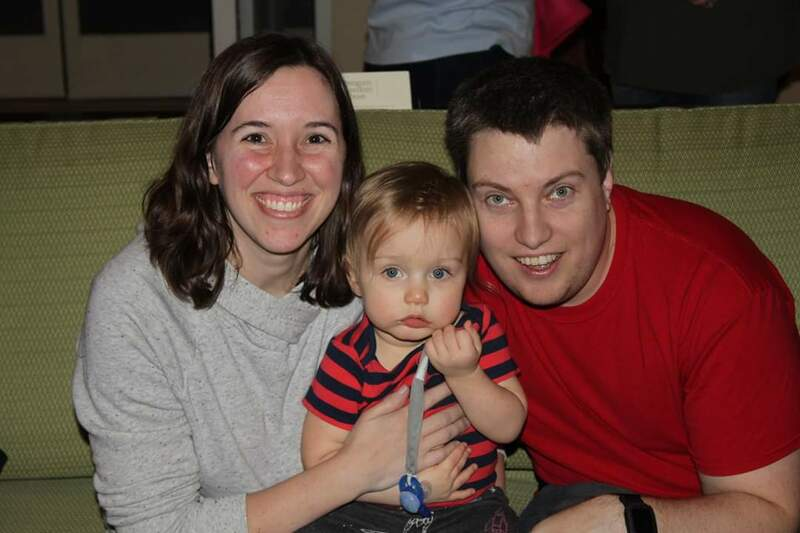 Connie (Step Daughter), Jon (Son-In-Law) and Walter (Grandson) Beilke