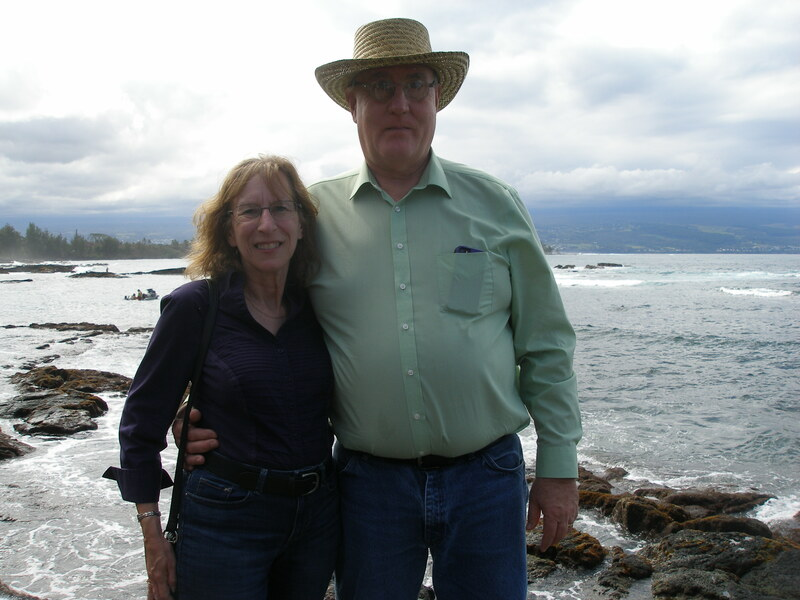 Nancy Sellers (Spouse) and I