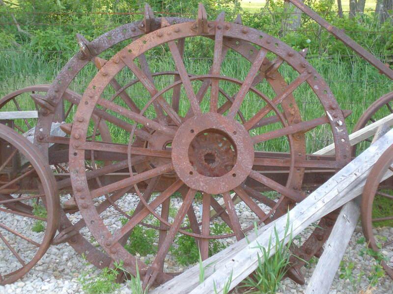 Oliver Hart Parr 17-28 Steel Wheels