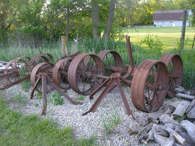 Threshing Machine Running Gears - Future Big Engine Carts