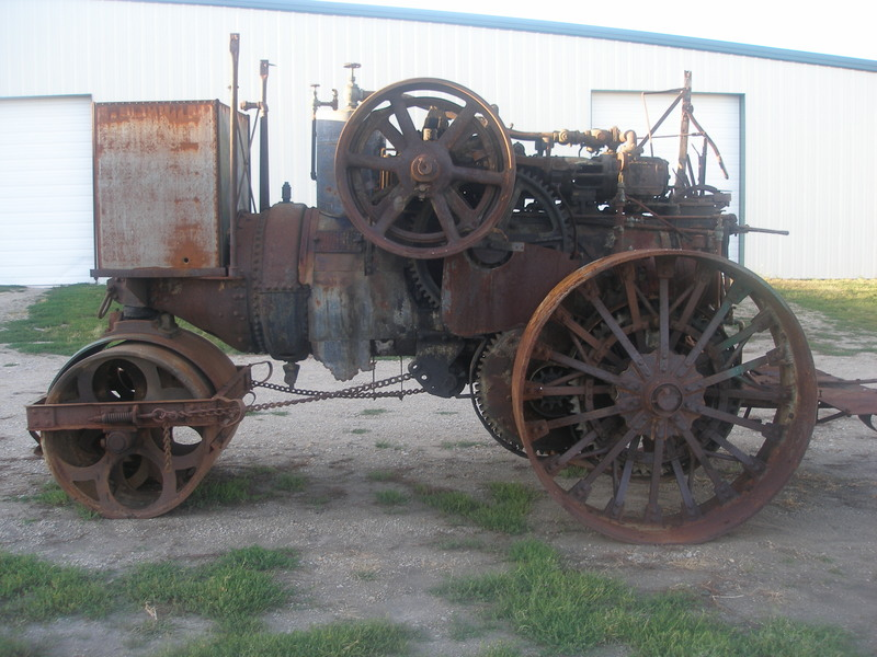 1926 Huber 10 Ton Road Roller - Currently Being Restored