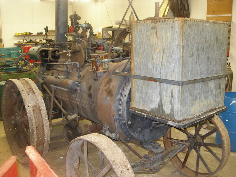 1898 Huber 5 HP - Currently Being Restored Back to a Portable