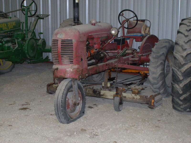 BF Avery with Mower Unknown Year and Model