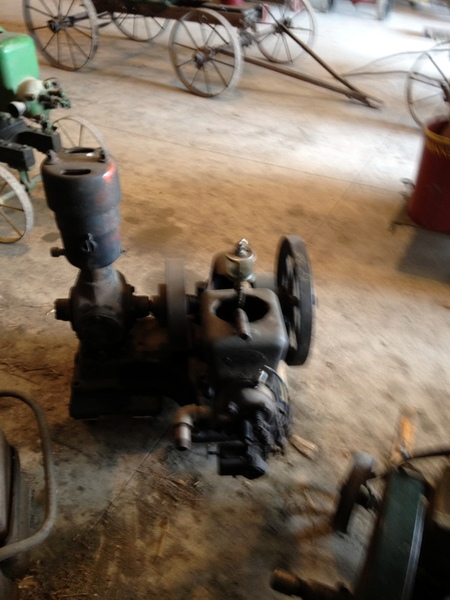 Fairbanks Morse Air Compressor Engine for Starting Bigger Engines