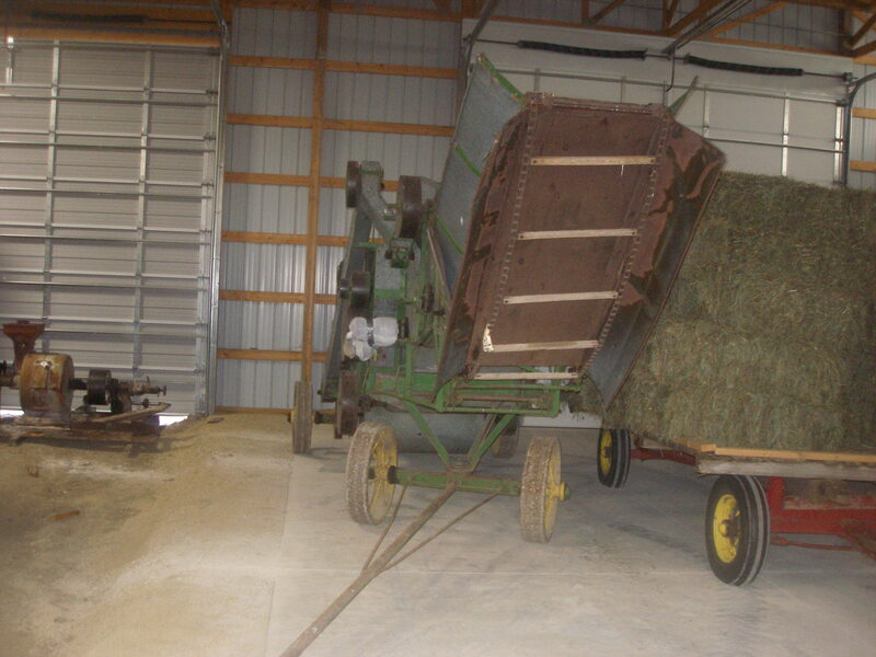 John Deere 28 Inch Thresher