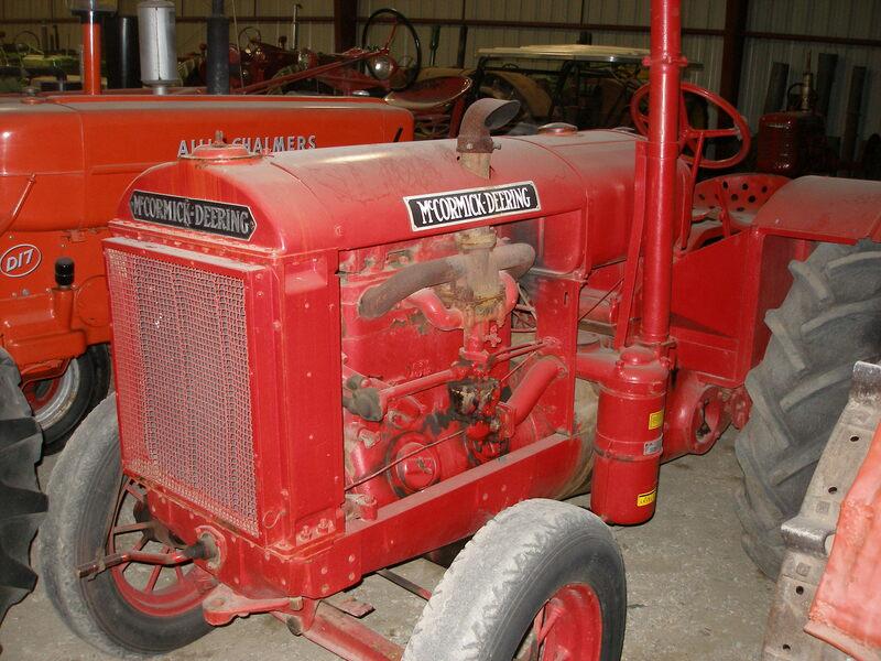 1937 McCorrmick Deering W30