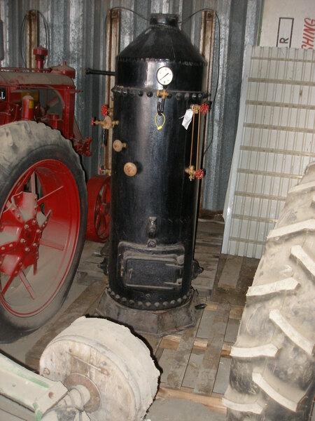 Upright Boiler