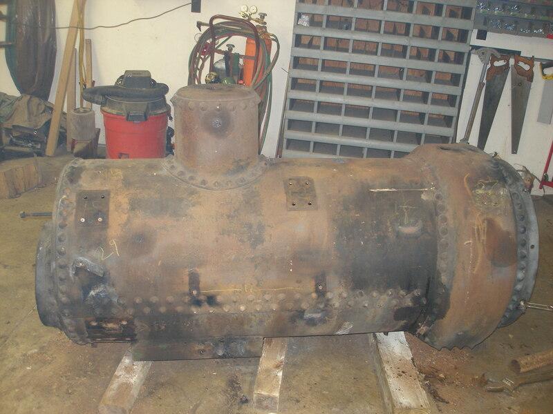 Old Boiler after disambly