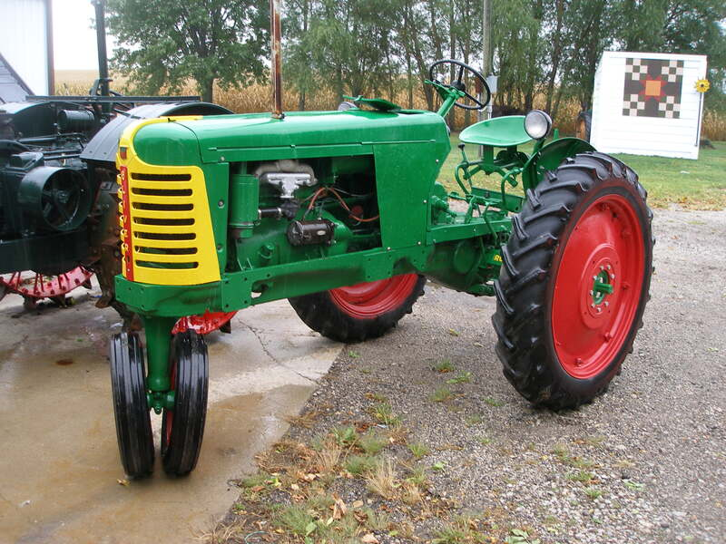 1949 Oliver 66 Grandson Graham's Tractor 22 - 26 HP