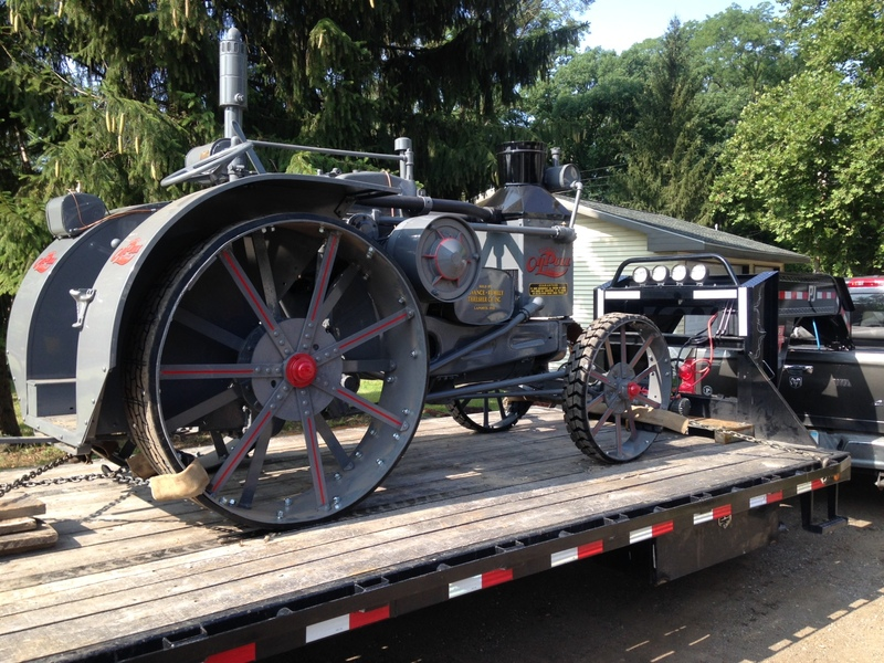 1929 Rumely Po; Pull Model W Fully Restored by JTC Tractors 20 - 30 HP